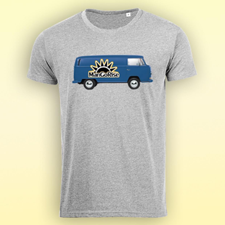 968bbeec6b MRSVW18 férfi pamut póló - szürke
